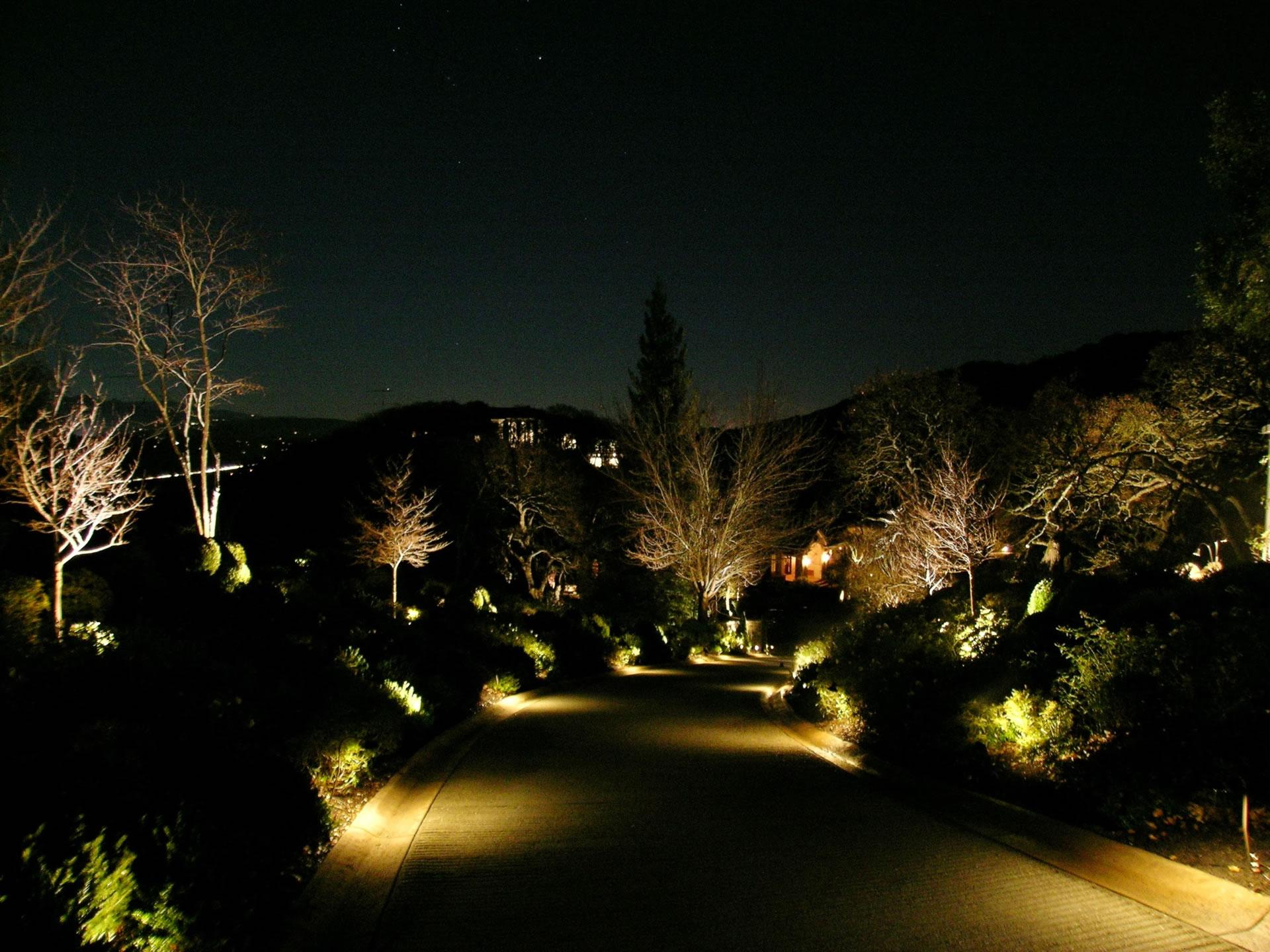 Alamo led landscape lighting conversion by artistic for Led landscape