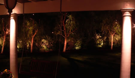 Chino Hills Landscape Lighting