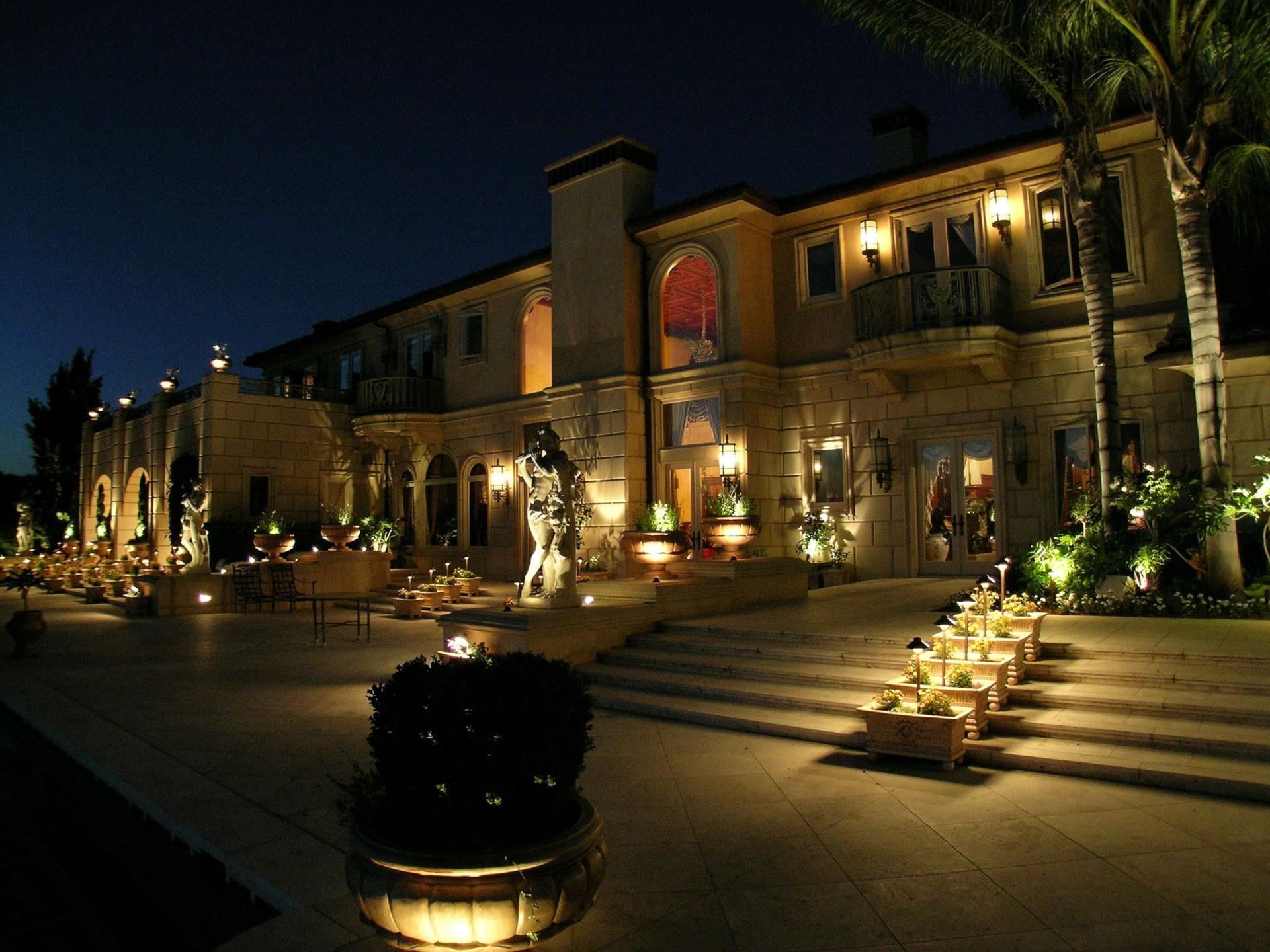 Santa Fe Landscape Lighting by Artistic Illumination
