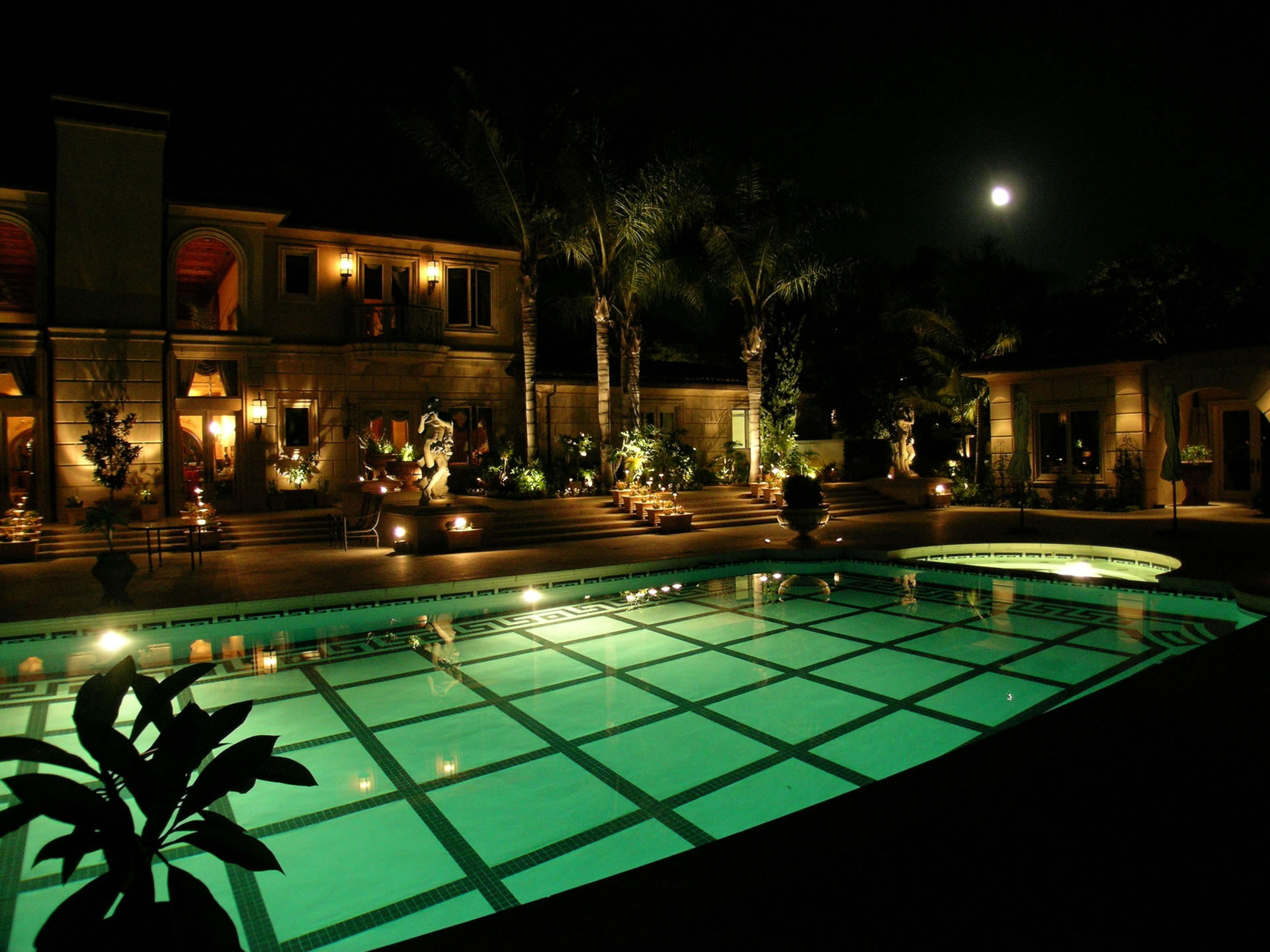 artistic outdoor lighting. santa fe landscape lighting artistic outdoor x